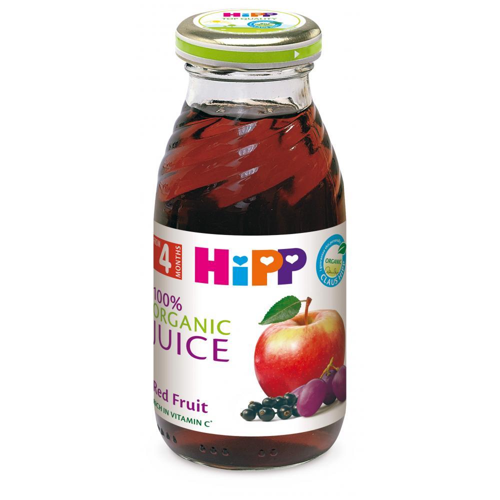 HIPP Šťáva z červených plodů BIO 200 ml