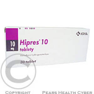 HIPRES 10  30X10MG Tablety