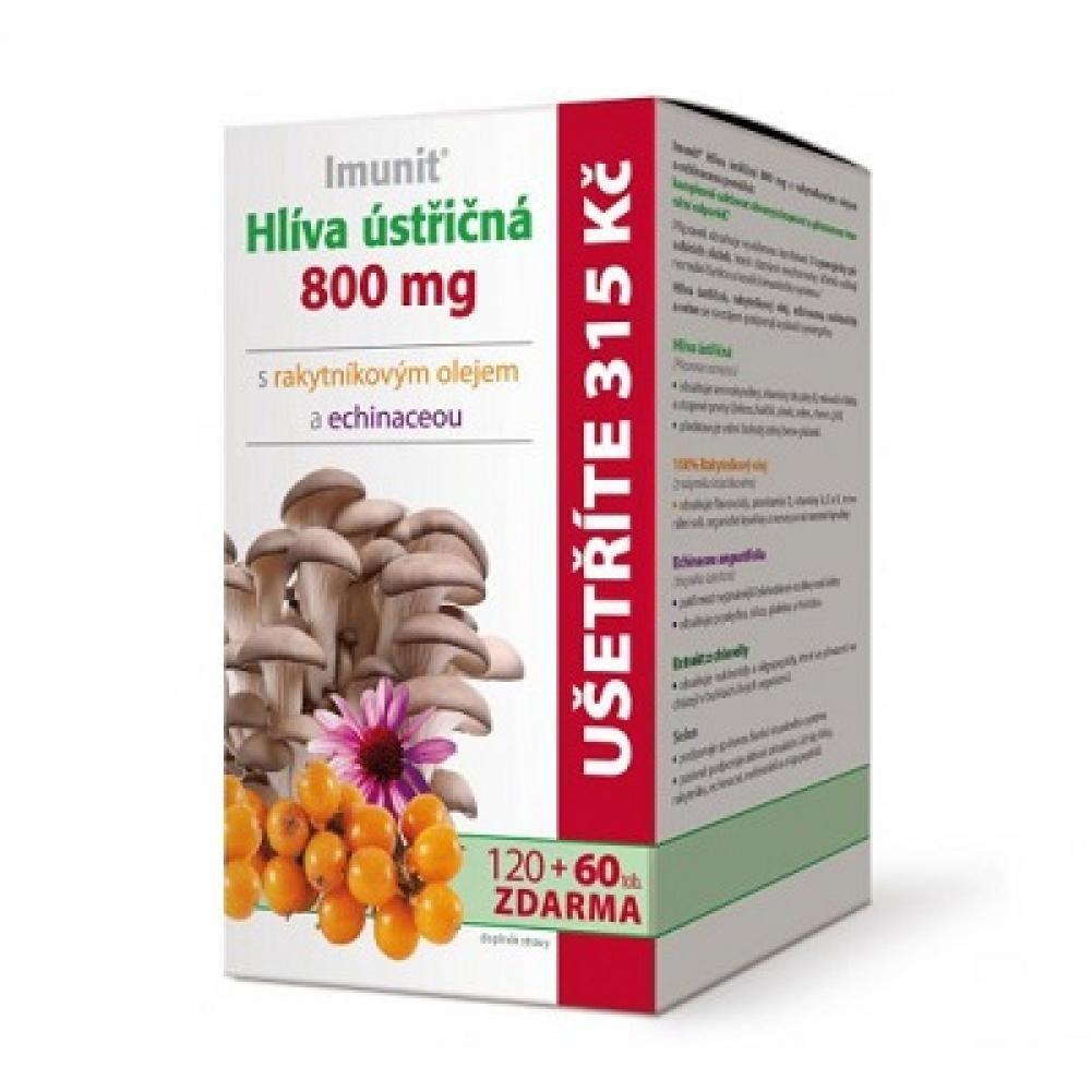 IMUNIT Hlíva ústřičná 120+60 tablet ZDARMA
