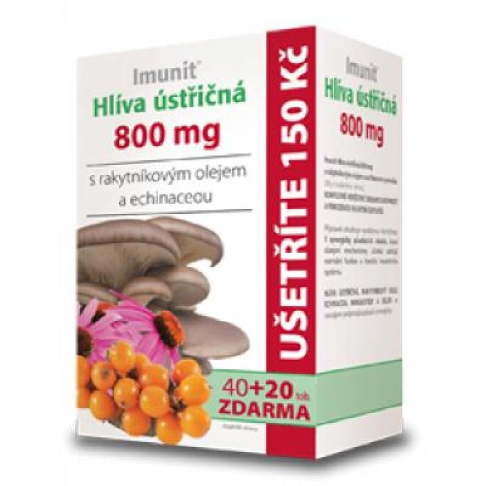 Imunit Hlíva ústřičná s rakytníkem a echinaceou 40 + 20 tobolek
