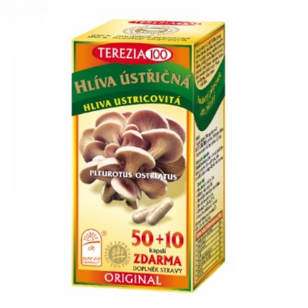 TEREZIA Hlíva ústřičná 50+10 kapslí ZDARMA