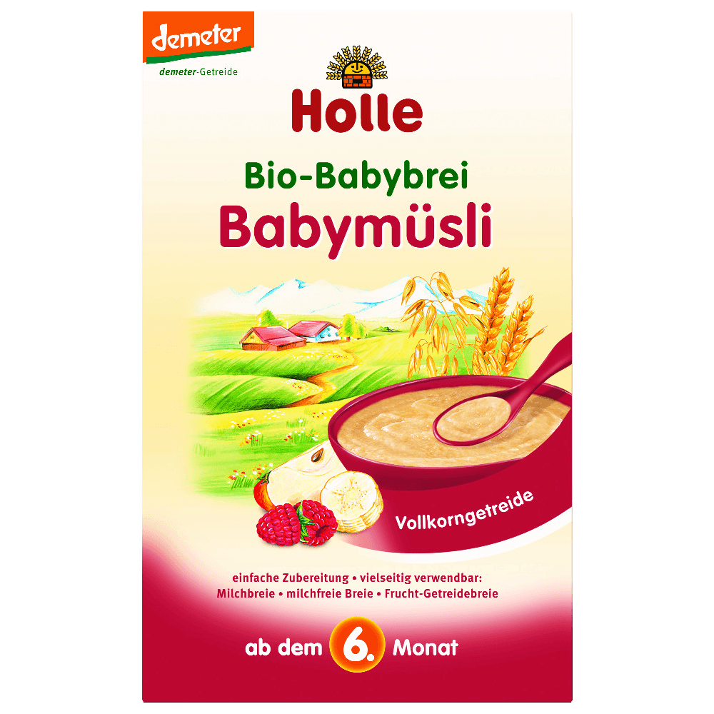 HOLLE Baby Bio kaše Dětské musli bezmléčná 250 g