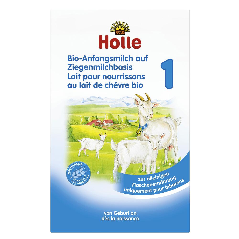 HOLLE Baby Bio Dětská výživa na bázi kozího mléka 1