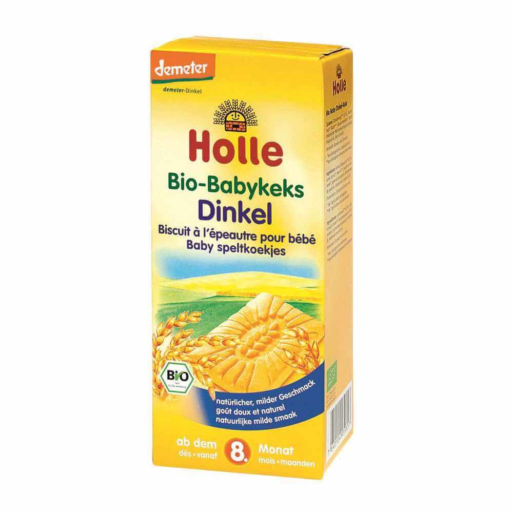 HOLLE Baby Bio Dětské špaldové keksy 150 g