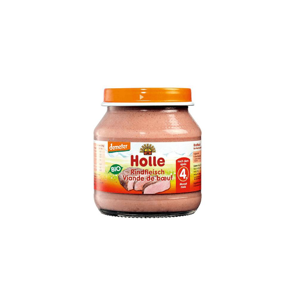 HOLLE Baby BIO Masová přesnídávka Hovězí maso 125 g
