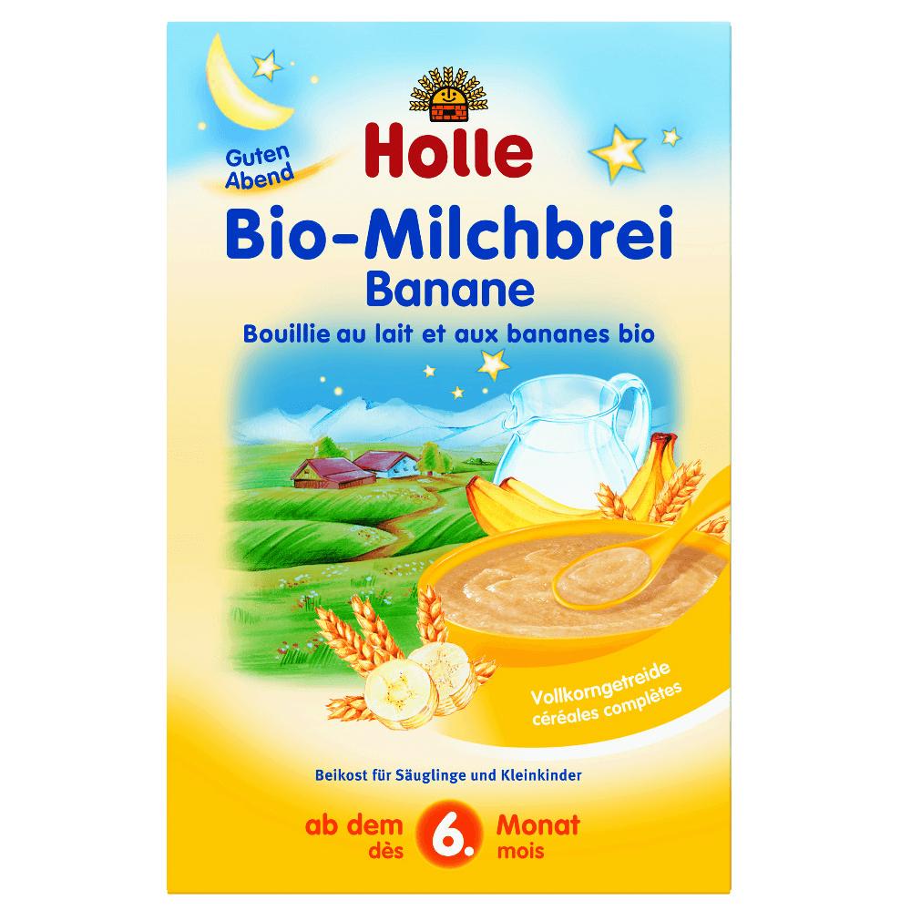 HOLLE Bio Mléčná kaše banánová 250 g