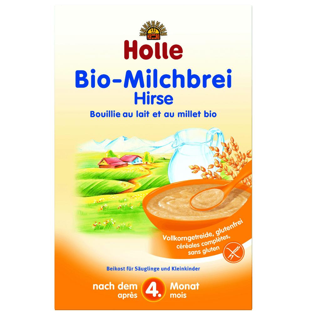 HOLLEBaby Bio Mléčná kaše jáhelná 250 g