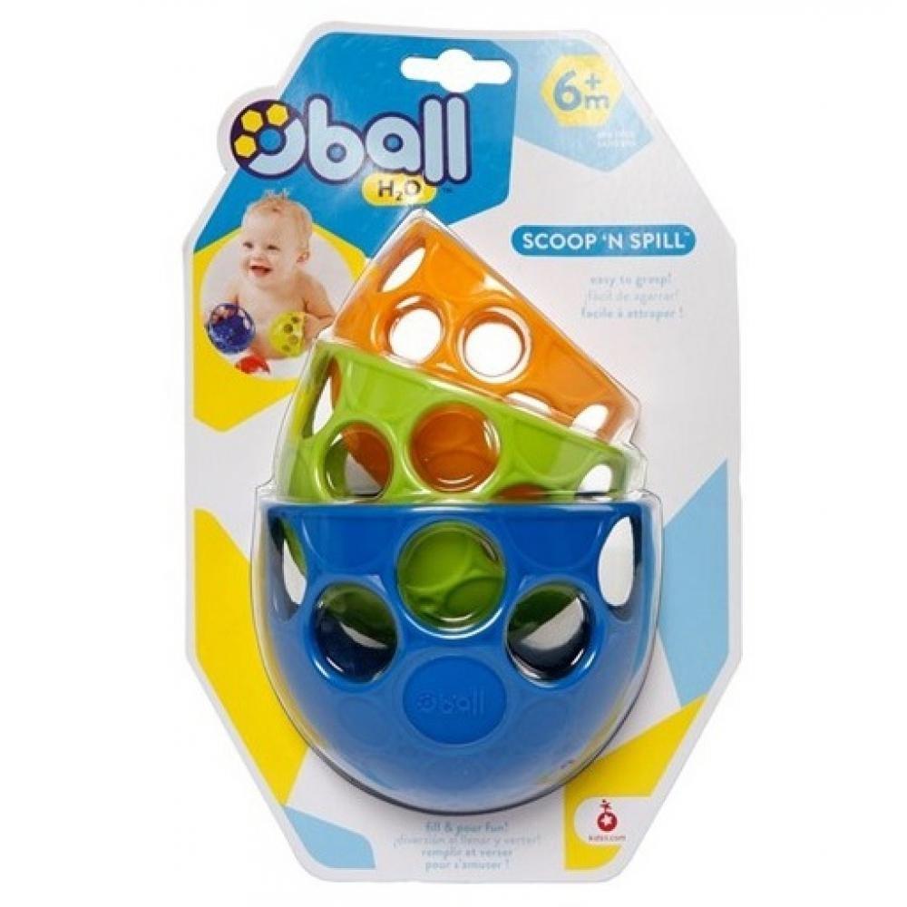 BRIGHT STARTS Oball hračka do vody naběračky 6m+