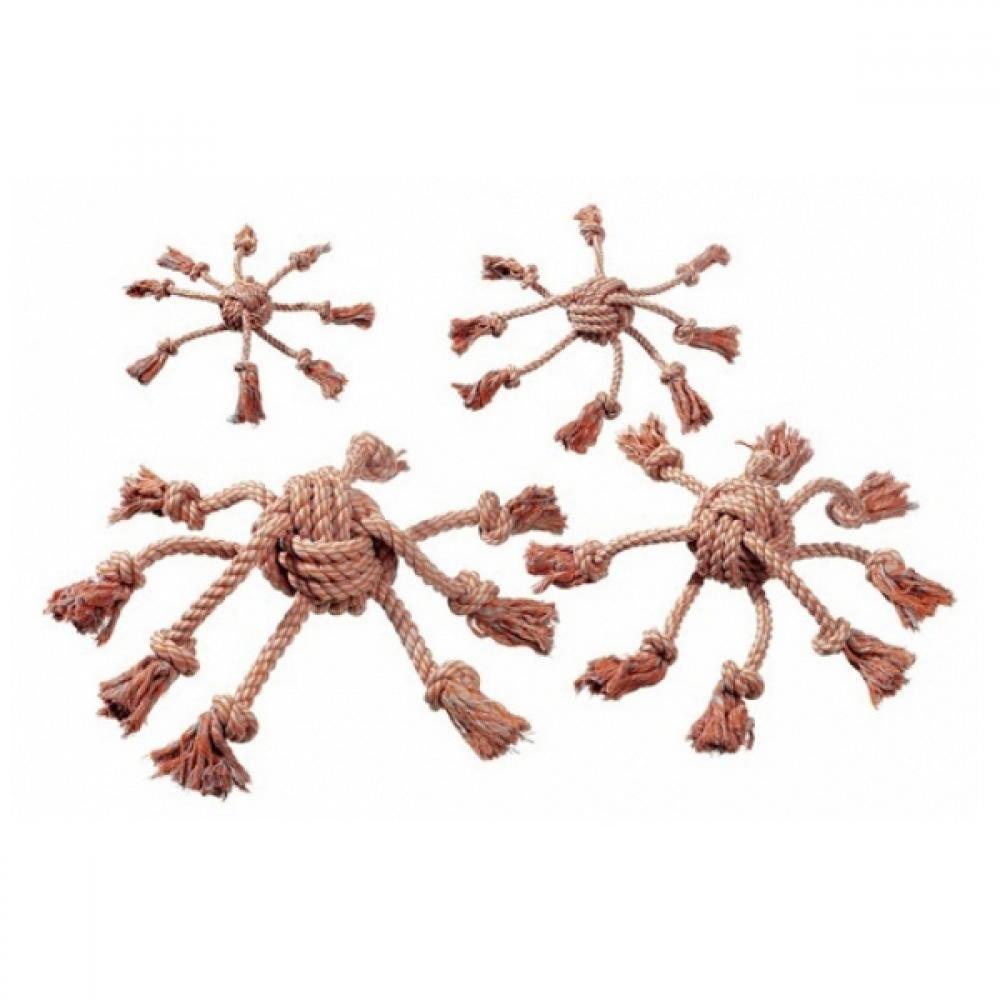 KARLIE Bavlněná hračka pro psa Chobotnice 15x15 cm 1 ks