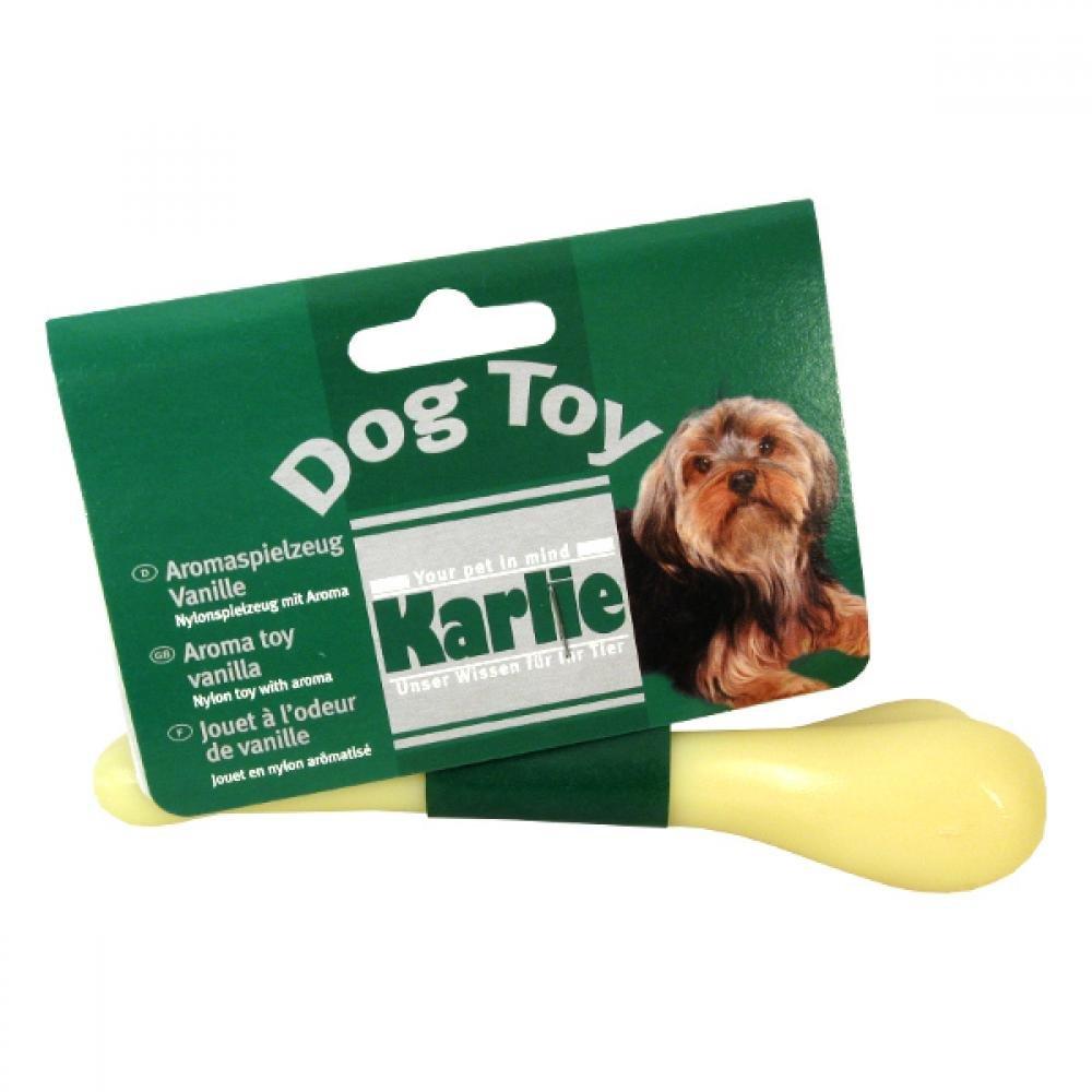 KARLIE Kost dentální pro psa vanilková 15 cm 1 ks