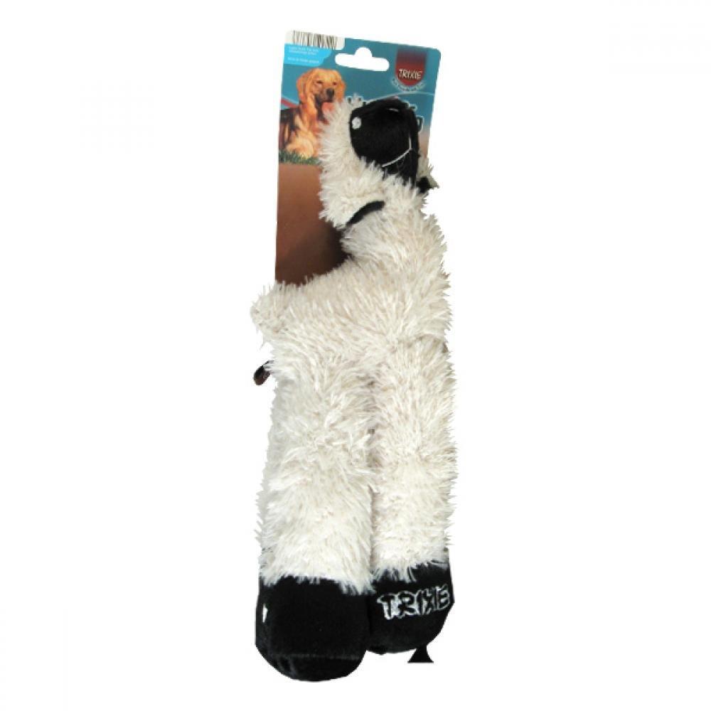 Hračka pes Lama malá pískací plyšová 30cm TR 1ks