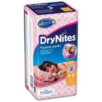 HUGGIES DryNites 3-5 Girl 10 ks