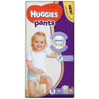 HUGGIES Pants Jumbo 5, 12–17 kg, 34 ks