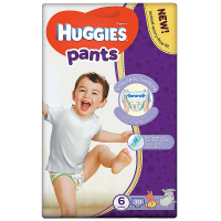HUGGIES Pants Jumbo 6, 15–25 kg, 30 ks