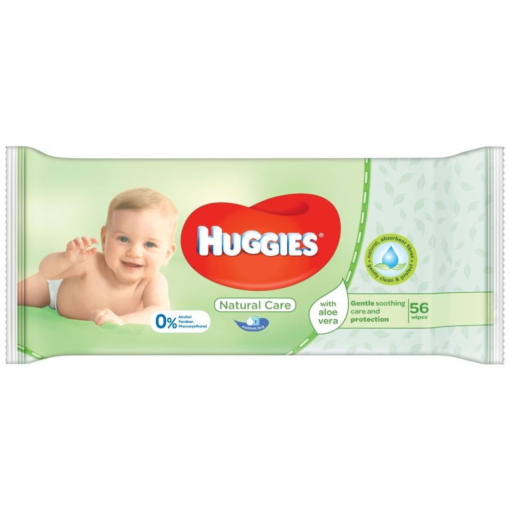 HUGGIES Natural Care Single 56 ks
