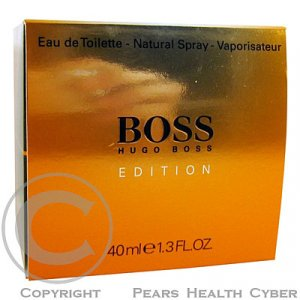 Hugo Boss Boss in Motion Black Edition Toaletní voda 40ml