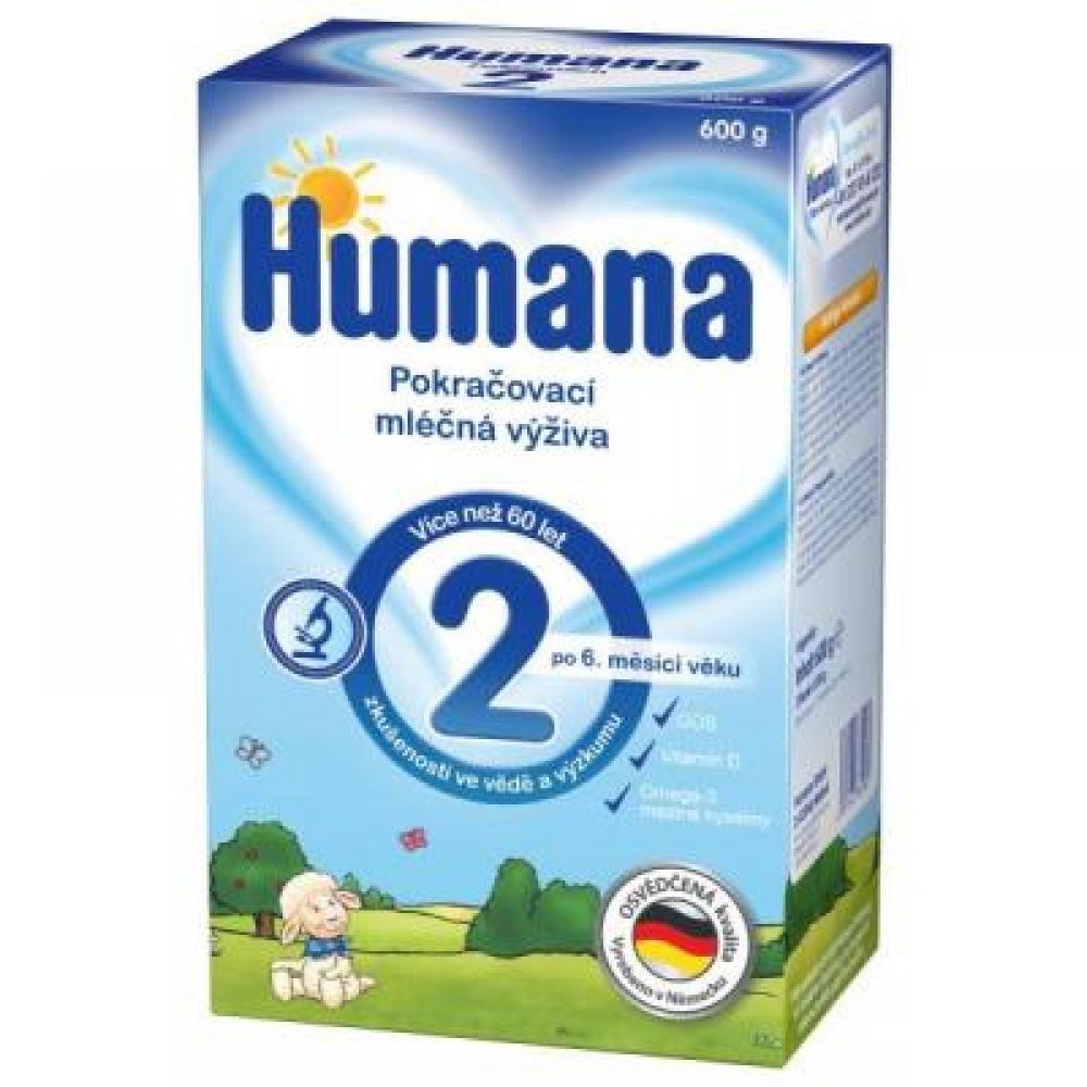 Humana 2 Pokračovací výživa 600g
