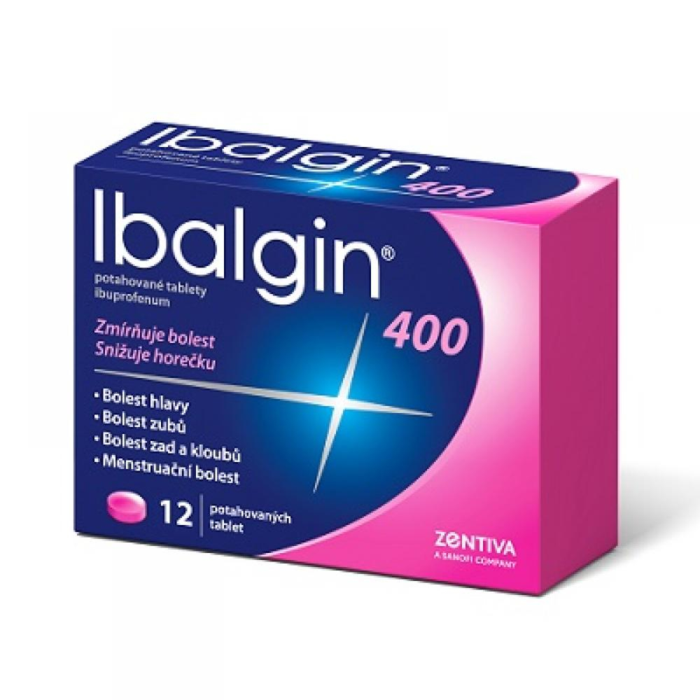 IBALGIN 400 mg 12 potahovaných tablet