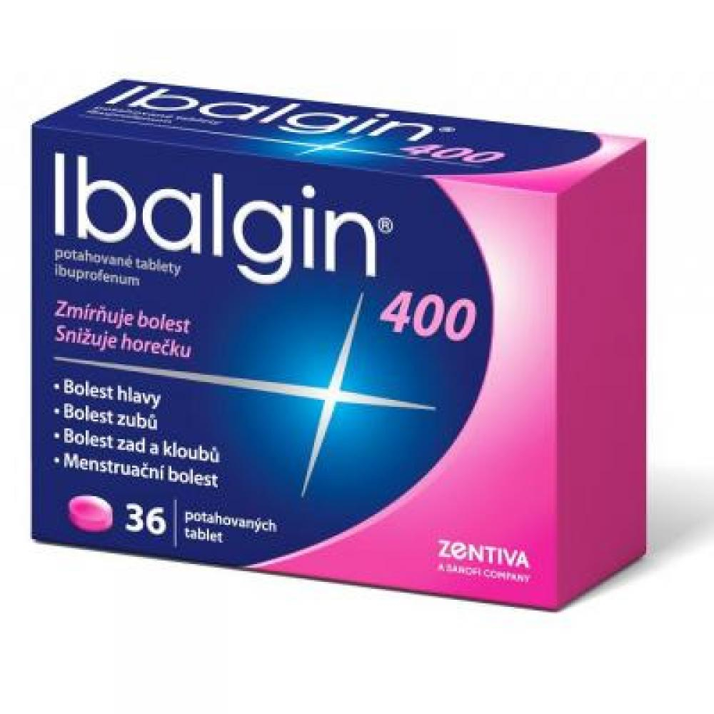 IBALGIN 400 mg 36 potahovaných tablet
