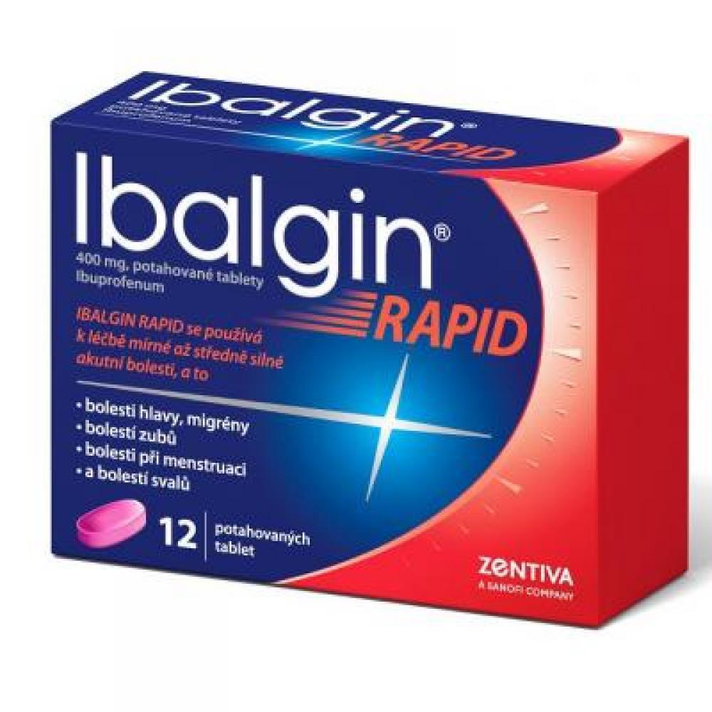 IBALGIN Rapid Potahované tablety 12 x 400 mg