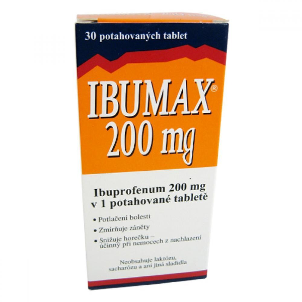 IBUMAX 200 MG 30X200MG Potahované tablety