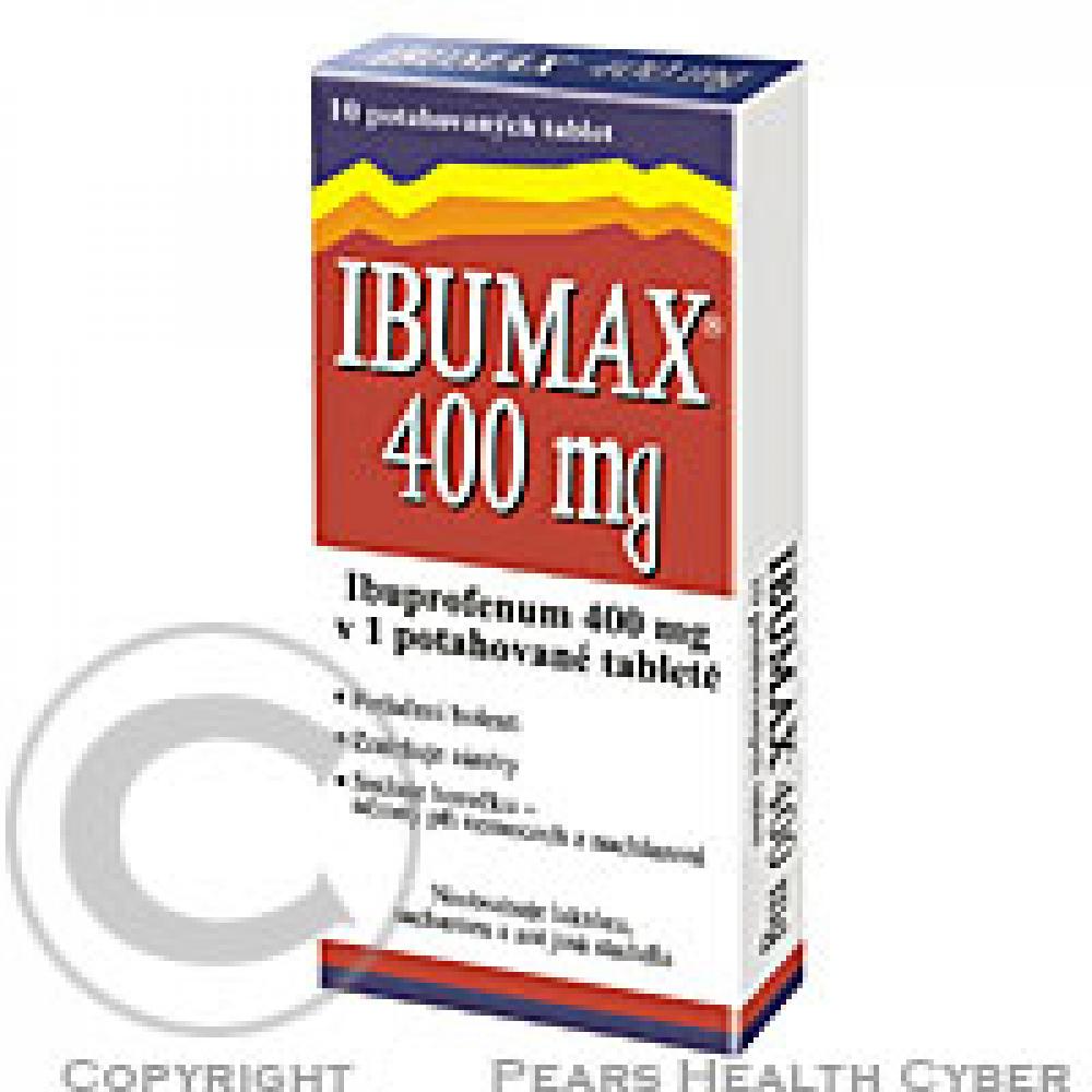 IBUMAX 400 MG 30X400MG Potahované tablety