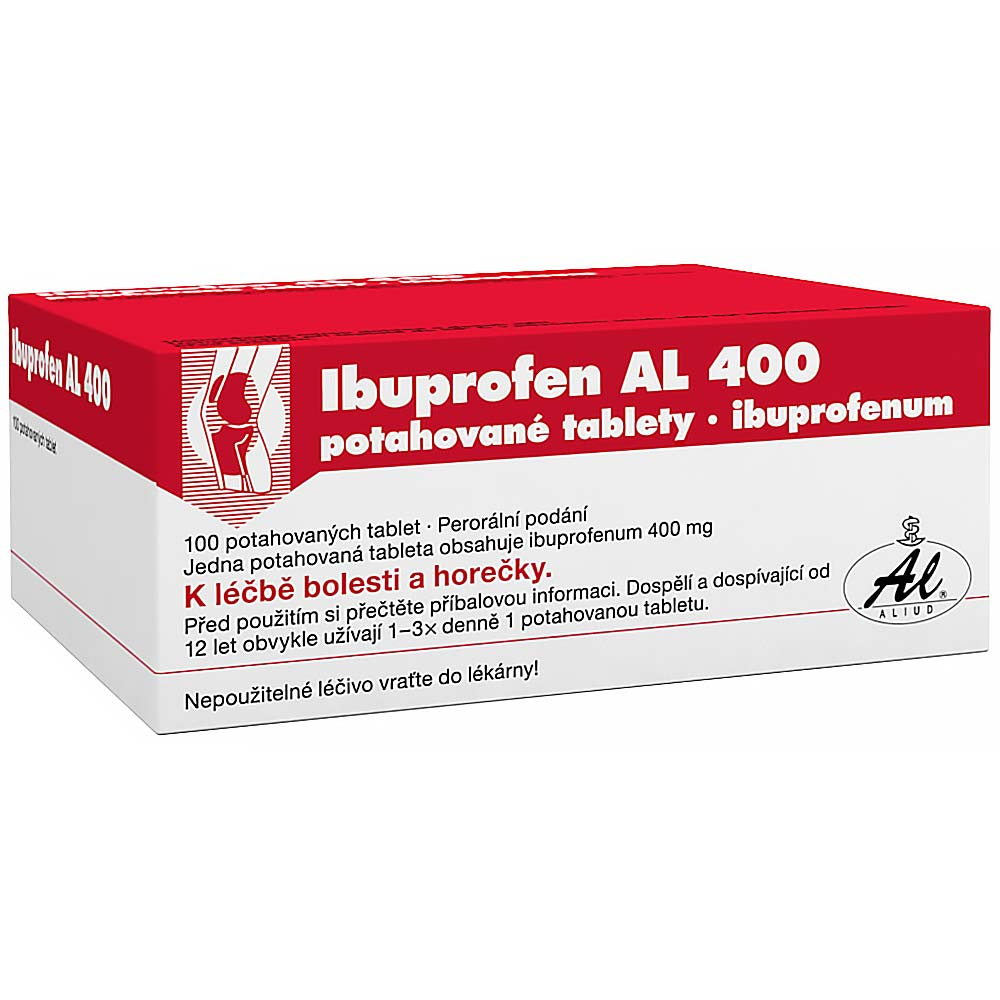 Ibuprofen Al 400 por.tbl.flm. 100x400mg