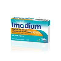 IMODIUM Rapid 2 mg 12 perorálních tablet
