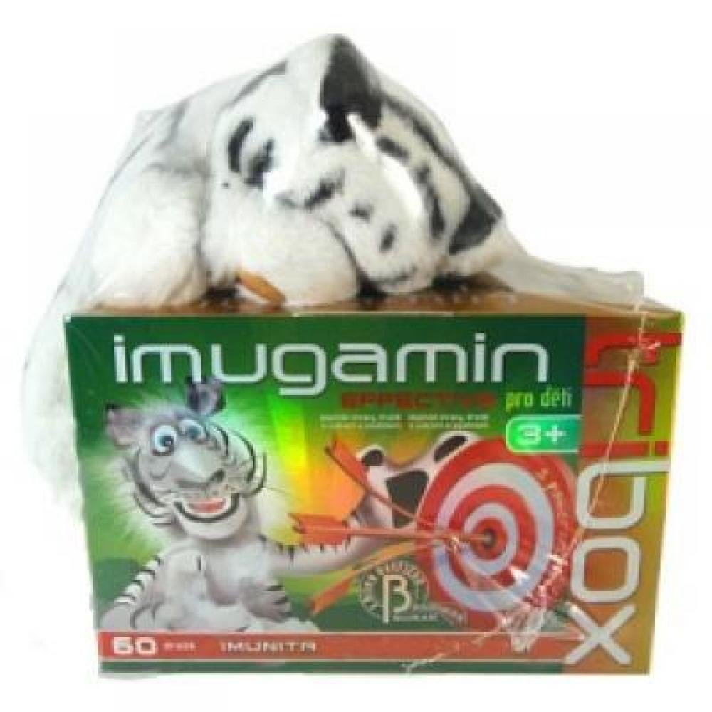 Imugamin Effective pro děti tbl. 60 Tribox + hračka