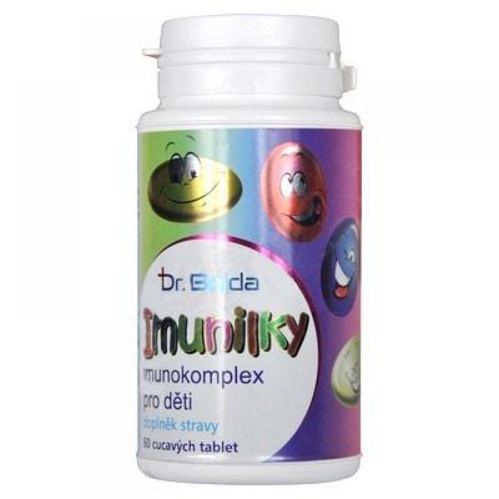 DR. BOJDA Imunilky imunokomplex pro děti 60 cucavých tablet