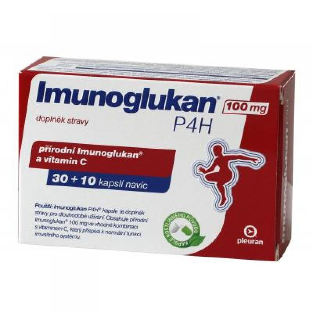 Imunoglukan P4H® 30+10 kapslí ZDARMA