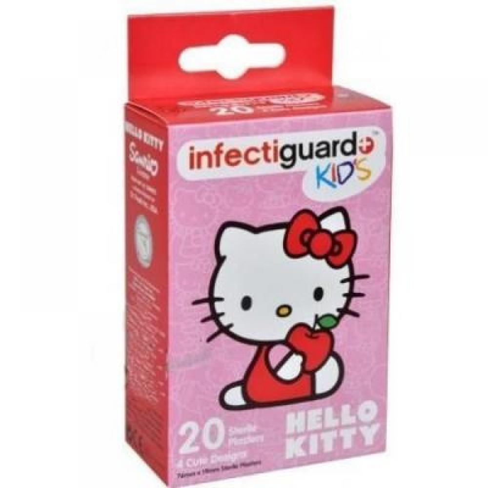 Infectiguard Hello Kitty KIDS náplast 20ks
