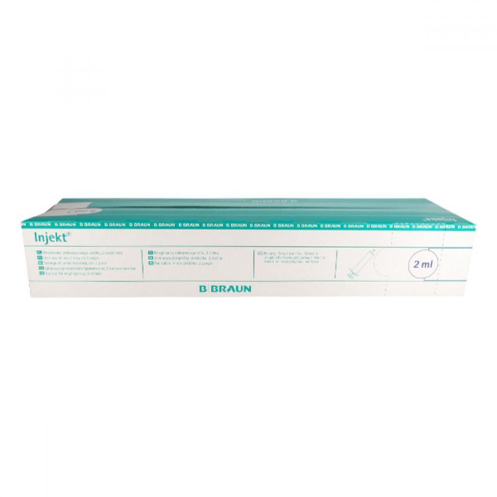 Injekční stříkačka 2 ml Braun 100 ks bez jehly 4606027