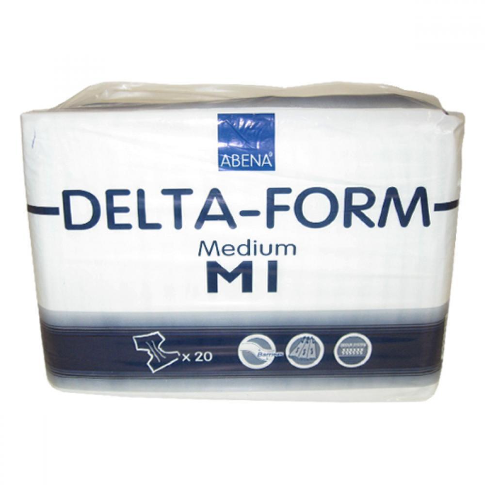 Inkont.kalh.Abri-form Delta Medium M1 70-110 20 ks
