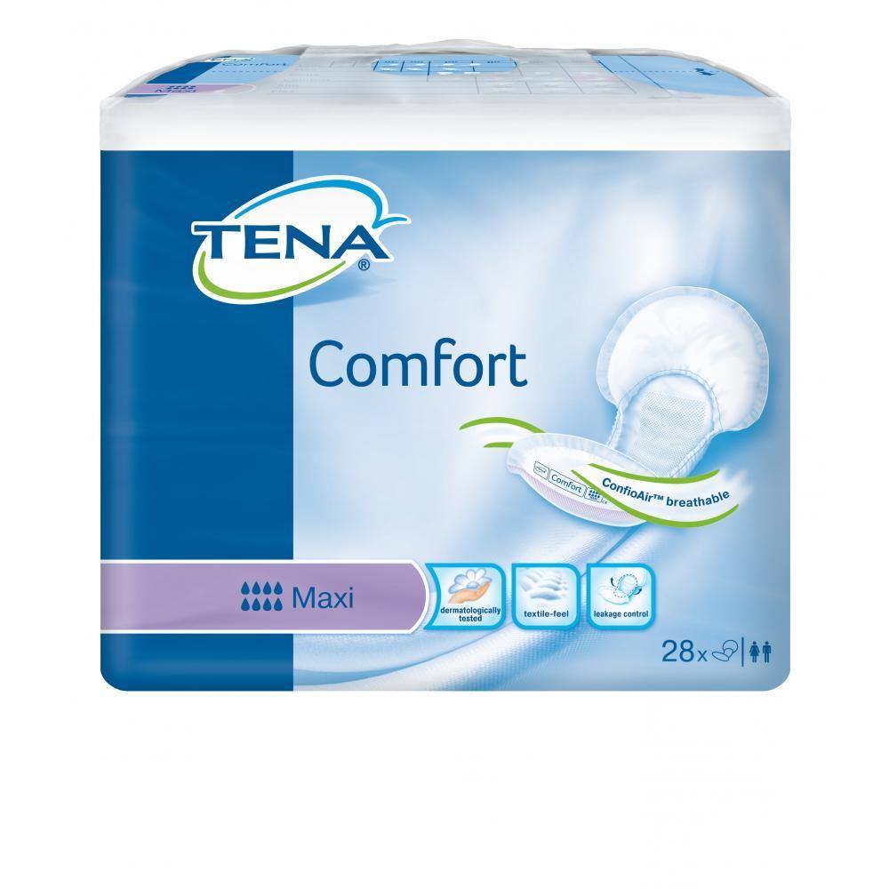 Inkontinenční vložné pleny TENA Comfort Maxi 28ks 759056