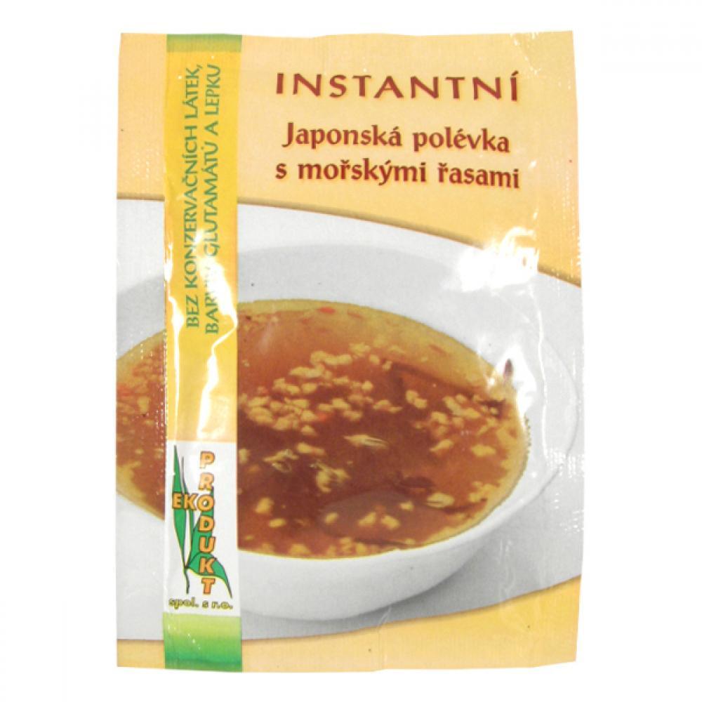EKOPRODUKT Instantní polévka japonská s mořskými řasami 20 g