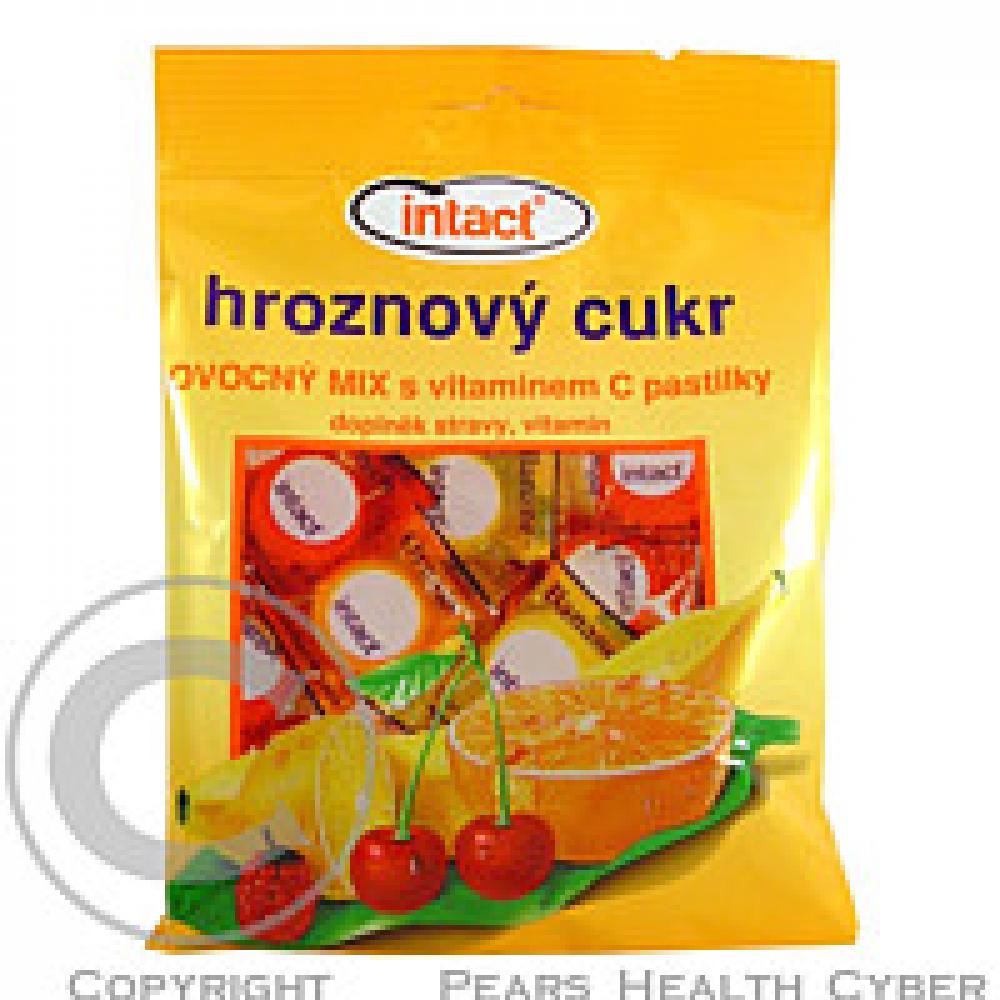 Intact sáček hroznový cukr OVOCNÝ MIX s vitaminem C 75 g