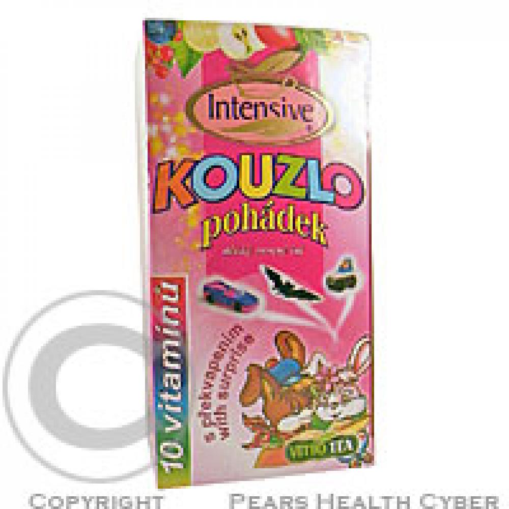 Intensive Kouzlo pohádek dětský ovocný čaj s 10 vitamíny s překvapením 20 x 2 g n.s.