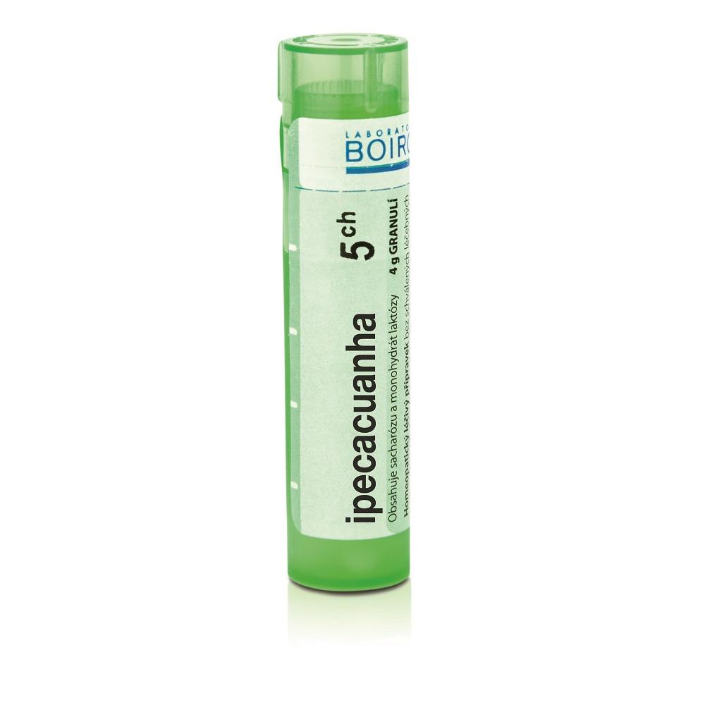 BOIRON Ipecacuanha CH5 gra.4 g - Recenze - Lékárna.cz