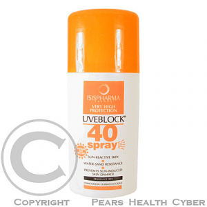 ISIS UVEBLOCK 40 Spray 75ml