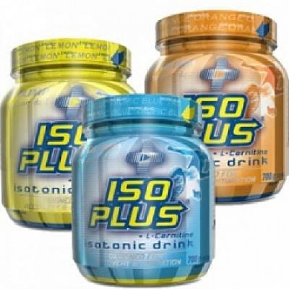 ISO Plus, izotonický nápoj v prášku, 700 g, Olimp - Tropic Blue