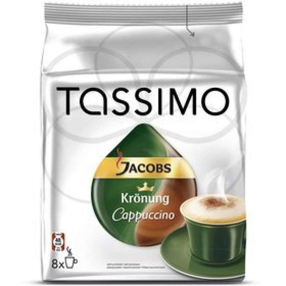 JACOBS KRÖNUNG TASSIMO CAPPUCCINO (NÁPLŇ)