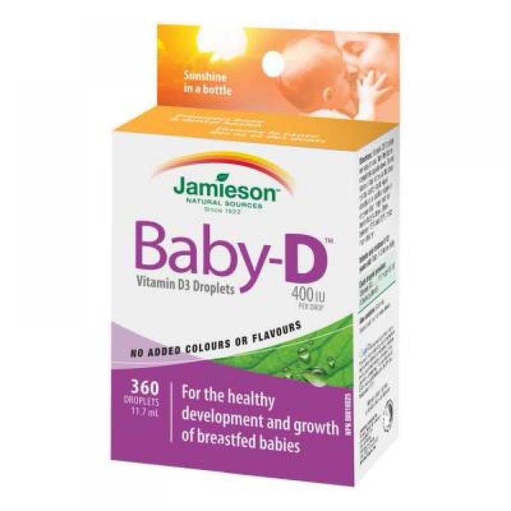 JAMIESON Baby-D Vitamín D3 kapky 11,7 ml