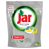 JAR Tablety do myčky Platinum Yellow 45 ks