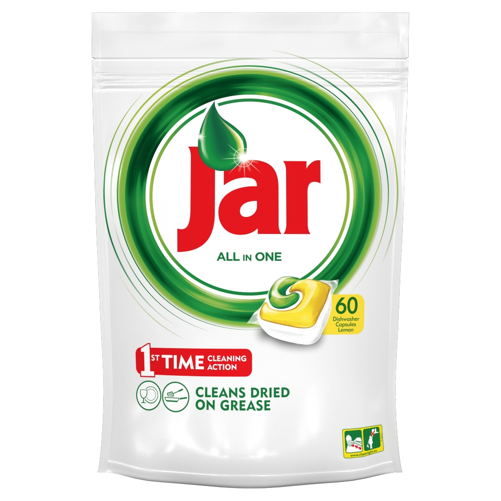 JAR Tablety do myčky Yellow 60 ks