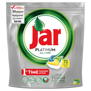 JAR Tablety do myčky Platinum Yellow 72 ks