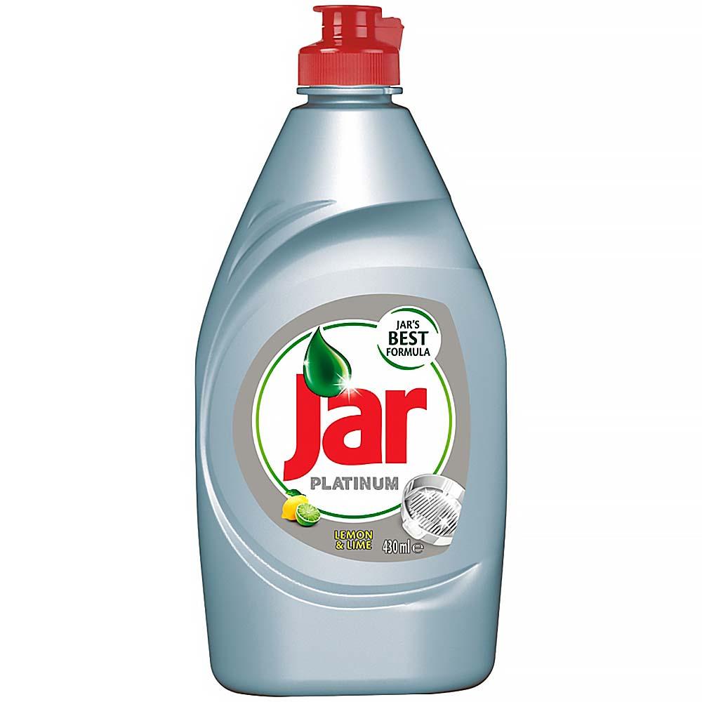 JAR Platinum Lemon & Lime prostředek na mytí nádobí 430 ml