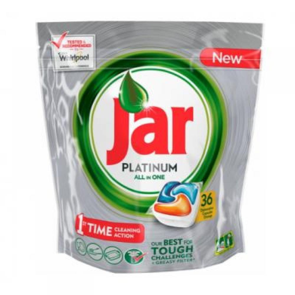 JAR tablety do myčky Platinum Orage 36 kusů