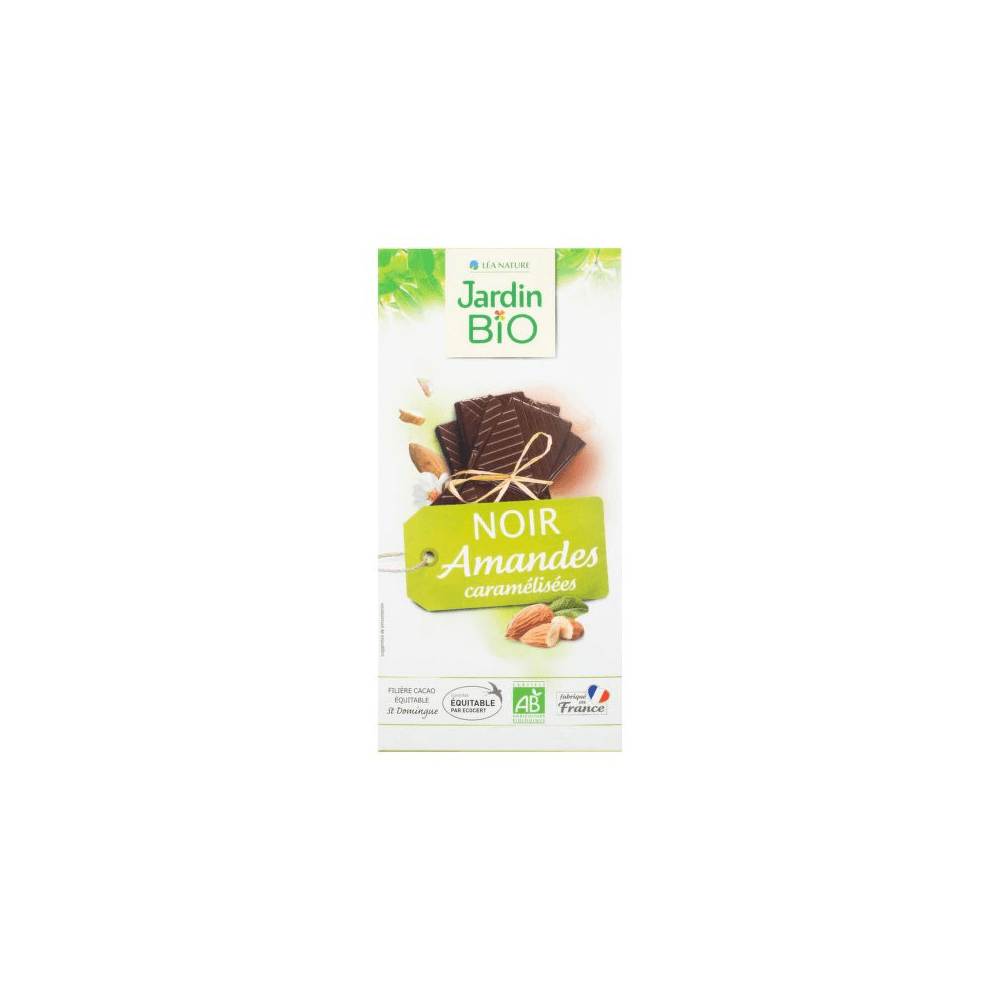 JARDIN BIO Čokoláda s mandlemi 100 g