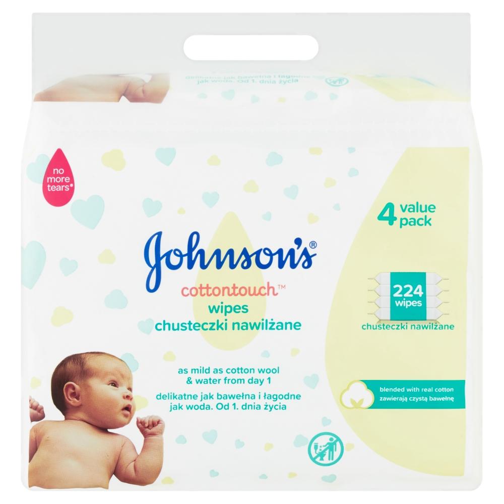 Johnson\\\\\\\\\\\\\\\\\\\\\\\\\\\\\\\'s Baby Extra Sensitive vlhčené ubrousky 224 kusů